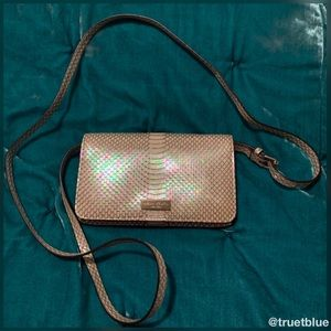 🆕 Henri Bendel Iridescent Mermaid Crossbody Bag